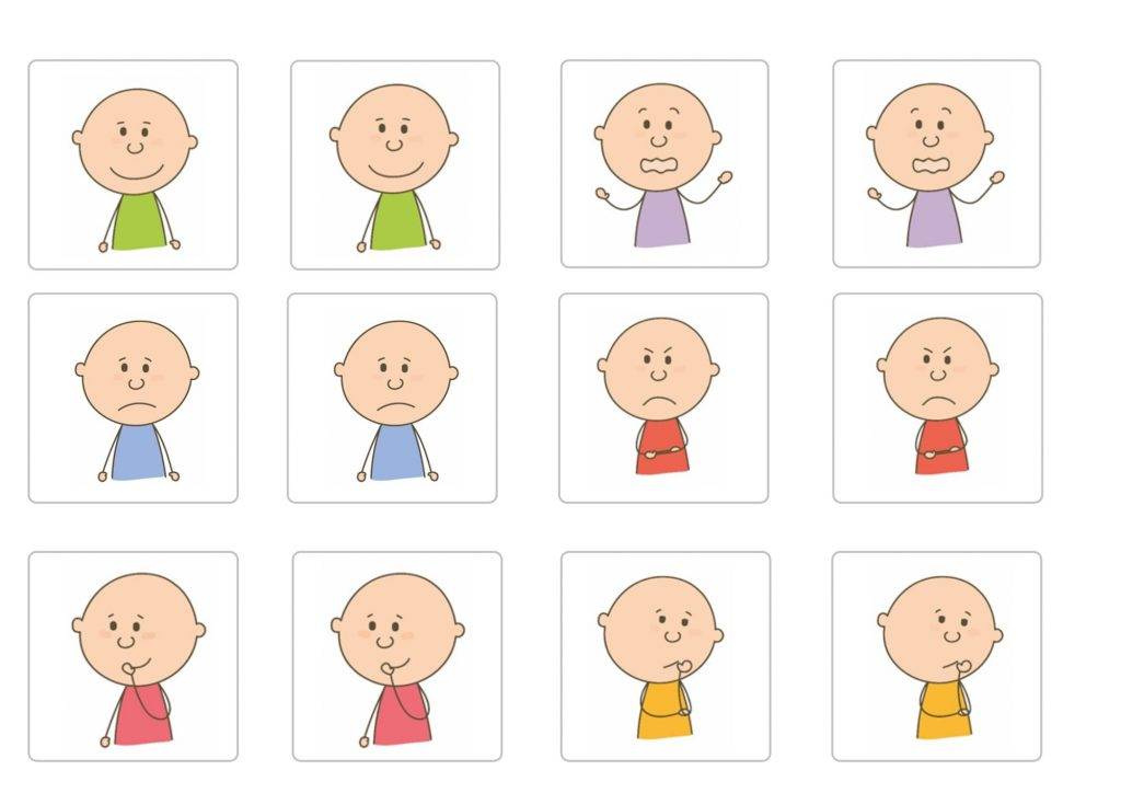 juego de pictogramas de memoria para autismo tea y asperger
