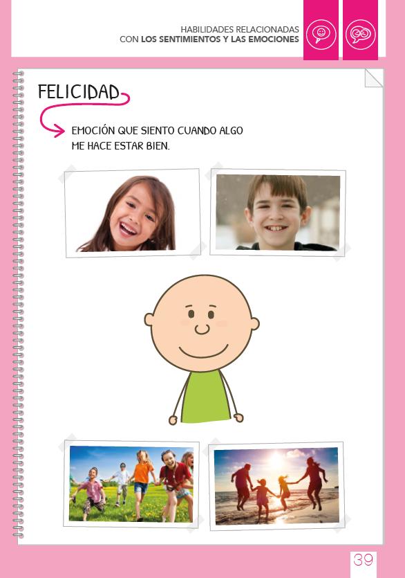 pictograma felicidad autismo