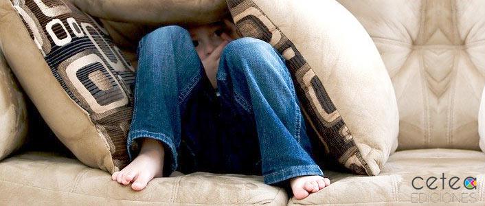 niño con ataque ansiedad