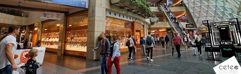 ansiedad en centro comercial