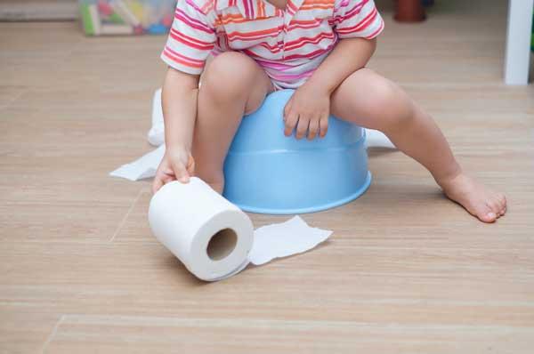 uso del orinal en niños con asperger