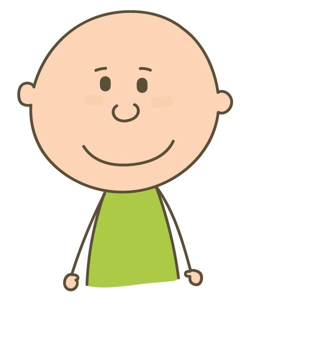 pictograma autismo feliz